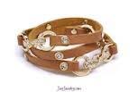 Tan Wrap Bracelet