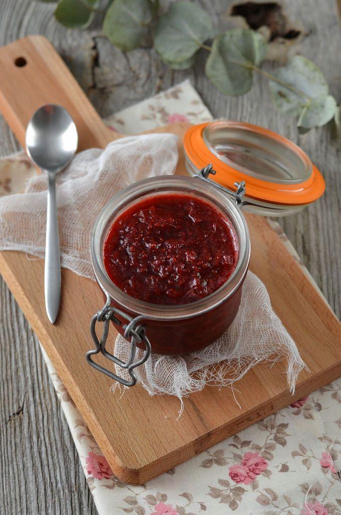 Confiture rhubarbe et framboise {maison} - Tangerine Zest
