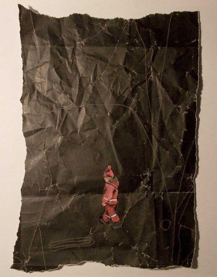 da serie: da copia in segno smalto su carta carbone riciclata,dimensioni variabili,2017 Lisa Cutrino