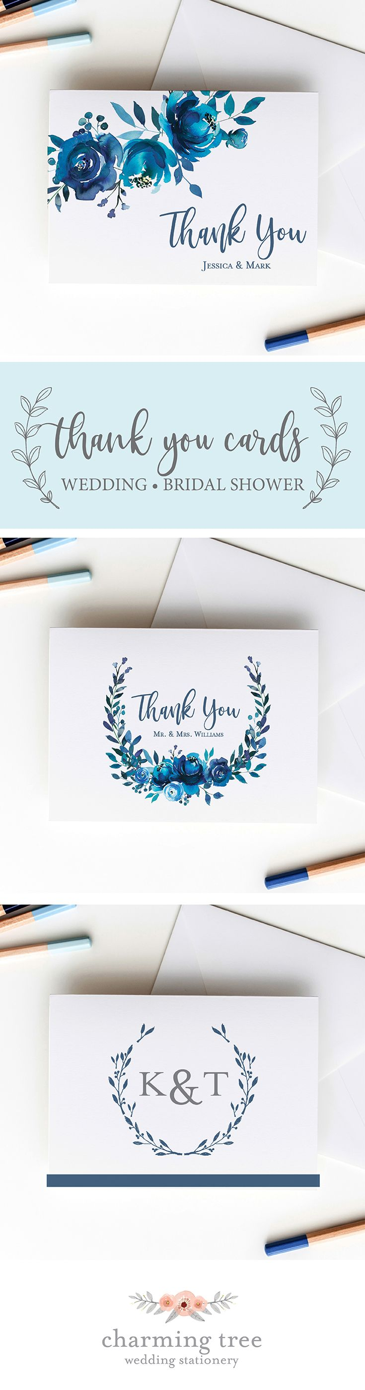 75 Best Stylish Wedding Thank You Note Cards Images By Organized