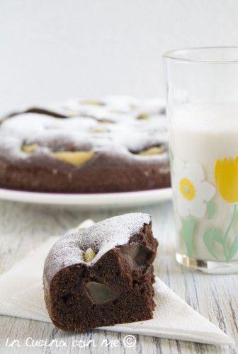 Torta pere e cioccolato - In Cucina con Me