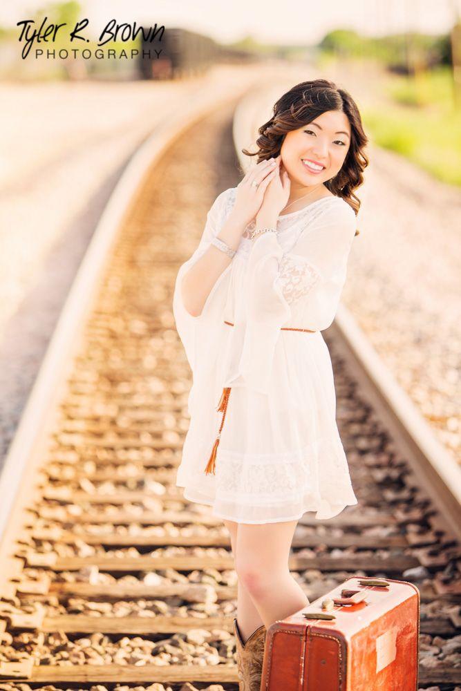 Katherine Lee - Centennial High School - Class of 2014 - #seniorportraits - Senior Pictures - Senior Photos - Senior Portraits - Frisco Square - Senior Picture Pose Ideas for Girls - Texas - @Whitney Stiles - Tyler R. Brown Photography