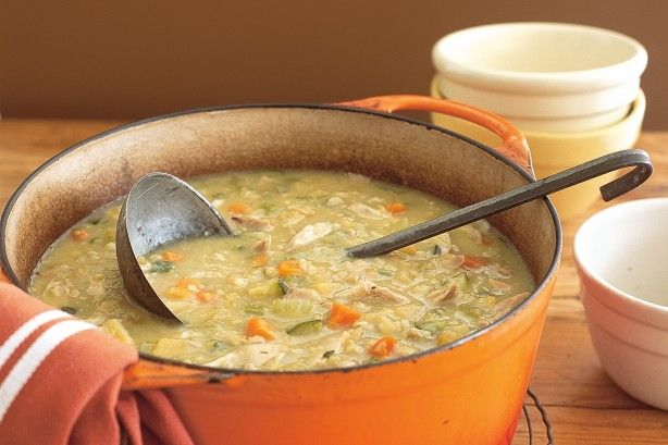 Warm up your Friday night with this hearty soup.
