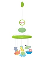 """All green MyMo and MP3 set with """"under the sea"""" theme selection of characters. So cute!"""