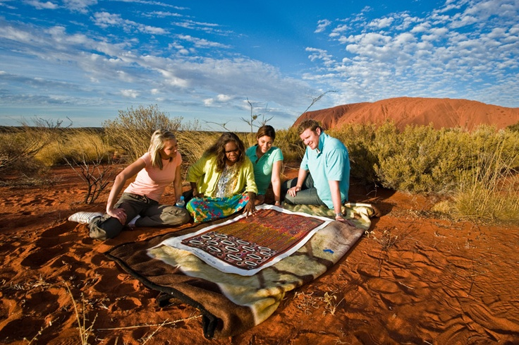 Longitude 131° Ayers Rock Uluru - Aboriginal Art