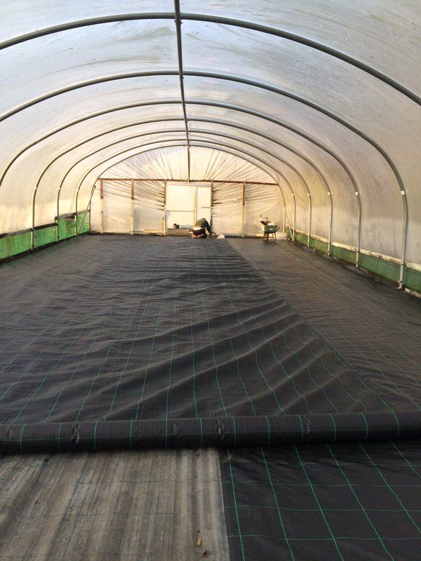 New Floor Being Laid In Polytunnel February 2016 Polytunnel Pinterest Floors And