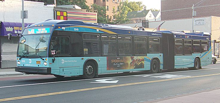 Pin by Jay Kindell on NYC Buses (With images) New york