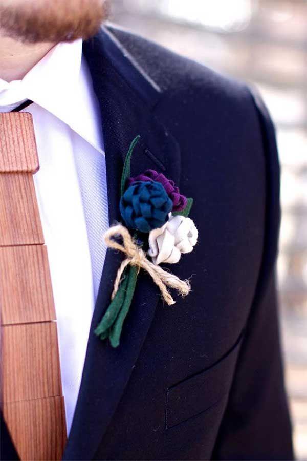 Groom and groomsmen wedding accessories from @woodthumb
