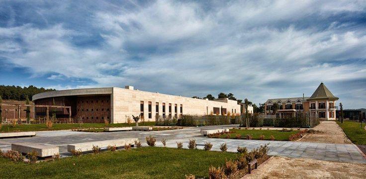 Vinero Şarap Fabrikası/Eceabat-Çanakkale Tekeli-Sisa Mimarlık Ortaklığı