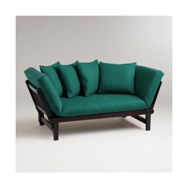cost plus world market mallard studio day sofa slipcover   130      liked on polyvore futon cost   furniture shop  rh   ekonomikmobilyacarsisi
