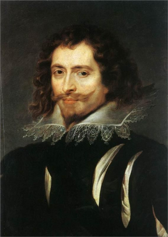 Portrait of George Villiers, 1st Duke of Buckingham, 1625.  Peter Paul Rubens. Palazzo Pitti.