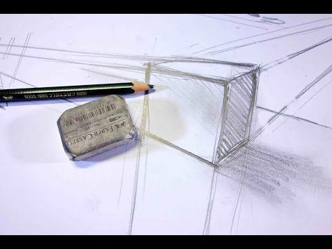 ganz einfach zeichnen lernen 12: Perspektive für Anfänger - YouTube