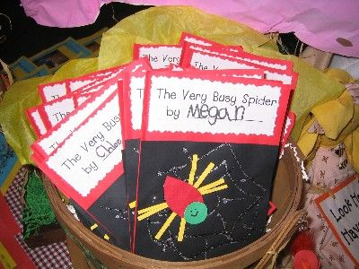 the very busy spider- this site has amazing projects for a variety of themes
