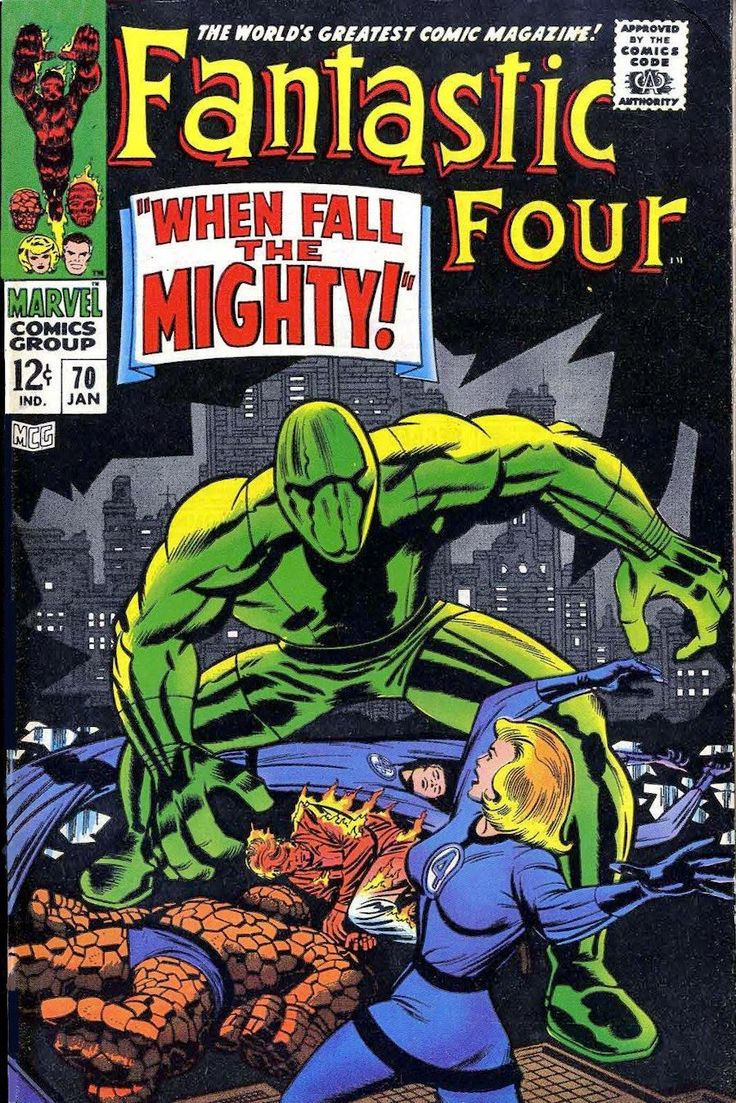 Fantastic Four 70 Marvel   When Fall the Mighty