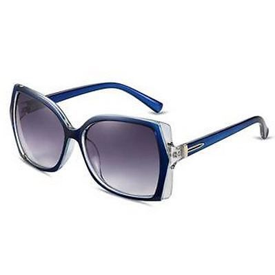 Outdoor wind sunglasses Ms inky lenses The blue picture frame