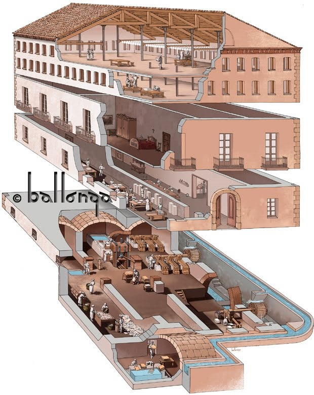 Museo Molino de Papel de Capellades. (Jordi Ballonga)