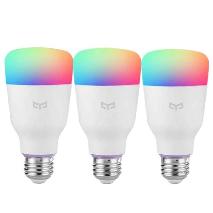 Yeelight Smart Light Bulbs White E27 3pcs Smart Bulbs Sale Price