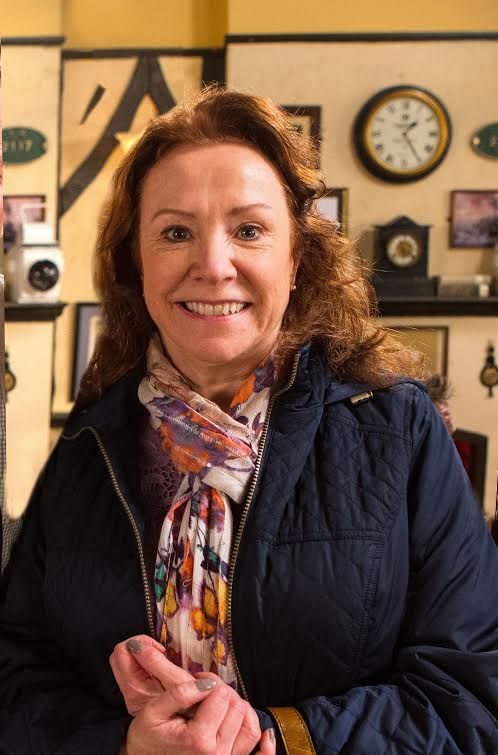 Cathy Matthews, played by Melanie Hill. The new love interest for Roy Cropper.