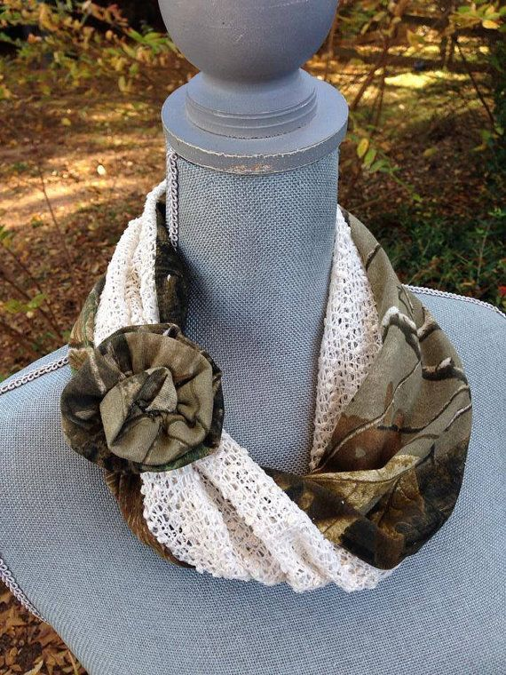 Real Tree Camo Scarf!