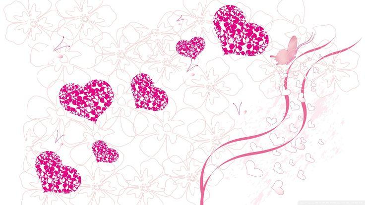 Nice Love Valentine Wallpaper Border 7