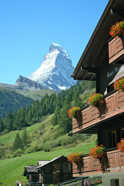 The Matterhorn, Zermatt, Switzerland - I shall return to climb you