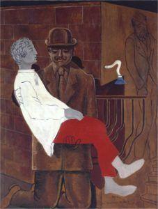 Max Ernst, Pietà or Revolution by Night, 1923