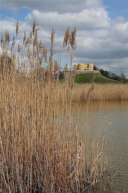 Dower Castle across Duchess Pond - Stoke Park, Bristol