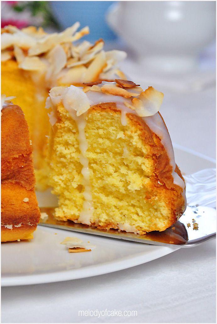 Coconut - buttermilk bundt cake - recipe