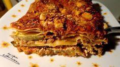 Λαζάνια με κιμά και μελιτζάνες στο φούρνο φανταστικό !!!!