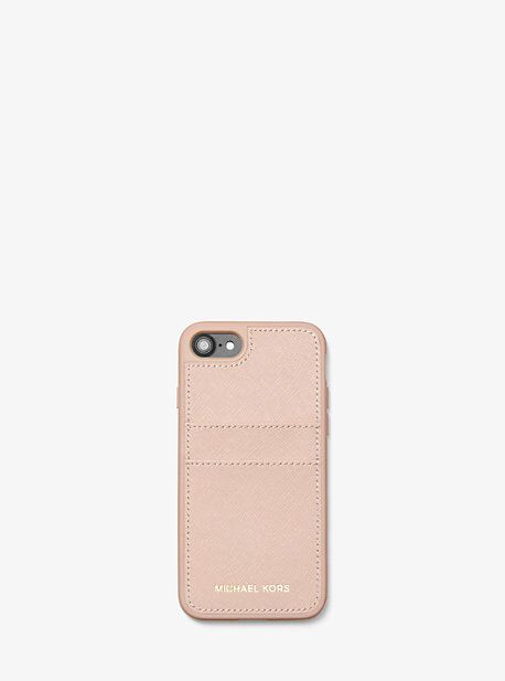 2f2b63216a7a Michael Kors : Saffiano Leather Case for iPhone 7/8 | Wishlist ...