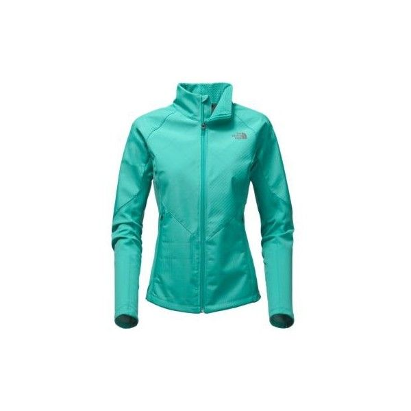The North Face Women's Isotherm Rain Fleece Jacket ($170) ❤ liked on Polyvore featuring the north face