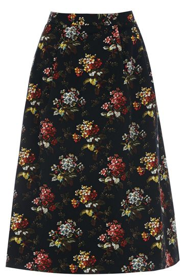 Like its mini partner in crime, the Primrose midi skirt is the cutest way to add some floral fun into your outfit. Bring the sweetness of some fresh blooms with you whatever the season.