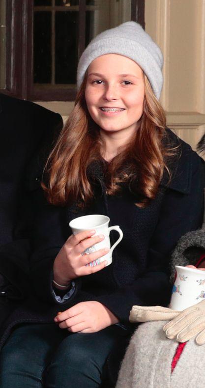 Ingrid Alexandra, Décembre 2016, Noel au palais royal d'Oslo