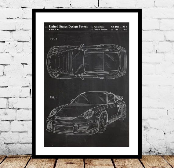 Porsche 911 Patent, Porsche 911 Poster, Porsche 911 Print, Porsche 911 with Spoiler, Porsche Art by STANLEYprintHOUSE  0.79 USD  This is a vintage patent print. The Porsche 911 with spoiler form 2011.  This poster is printed using high quality archival inks, and will be of museum quality. Any of these posters will make a great affordable gift, or tie any room together.  Please choose between different sizes an ..  https://www.etsy.com/ca/listing/231009385/porsche-911-patent-porsche..