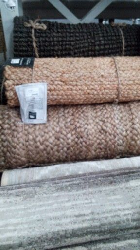 Natural rugs from Madras Link.