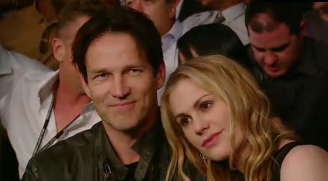 Anna Paquin and Stephen Moyer attend the Floyd Mayweather, Jr. and Miguel Cotto fight