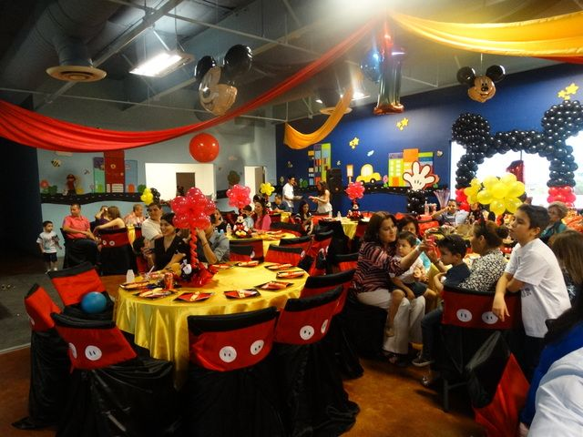 "Photo 3 of 28: Mickey Mouse / Birthday ""Gerardo's first birthday!"" | Catch My Party"