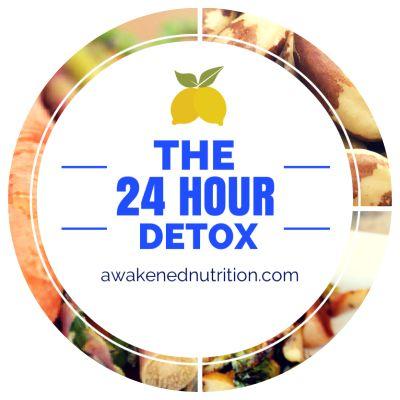 Feeling yucky? Start feeling better with the 24-Hour Detox  #fitfluential #detox