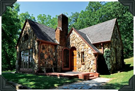 In 1928 Rose Wilder Lane Built This Tudor Style Cottage