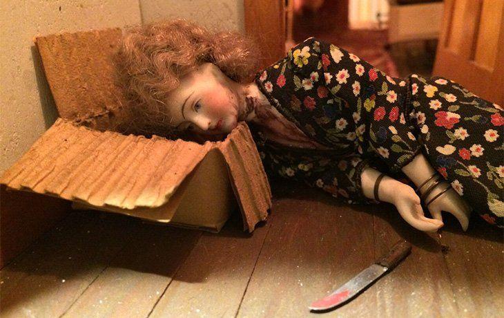 Frances Glessner creo una serie de casas de muñecas a escala, de auténticas escenas del crimen.