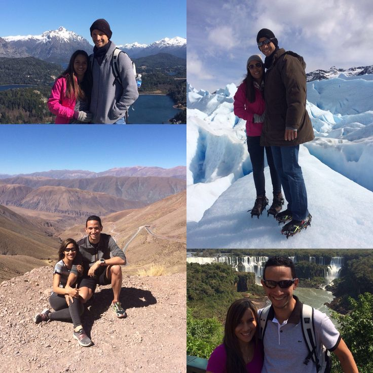 In September, Liliana and Hector traveled almost along all of Argentina and returned to Puerto Rico delighted with the places they met: Buenos Aires + Iguazu Falls + Northern Argentina (Salta & Jujuy) + Ushuaia + El Calafate and Perito Moreno Glacier + Bariloche and lakes region + Mendoza and vineyards. Thank you for choosing Across Argentina, look forward to you visiting us again soon! #beautiful #places #landscapes #outdoor #nature #glaciers #waterfalls #lakes #mountains #happiness
