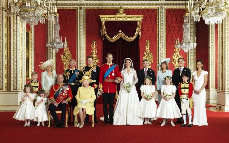 photo british-royal-family  April 29, 2011 Kate & William's Wedding Day