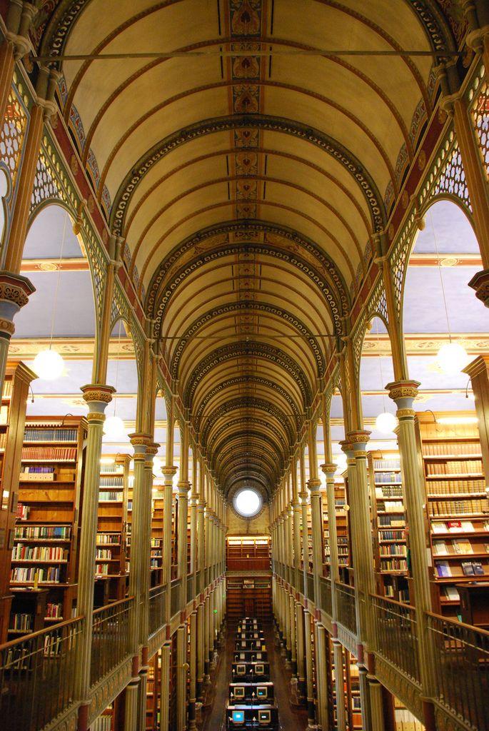 Copenhagen University Library in Copenhagen, Denmark (since 1582)