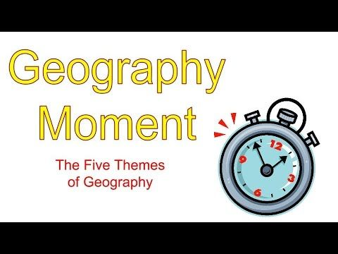 Five Themes of Geography - YouTube                                                                                                                                                                                 More