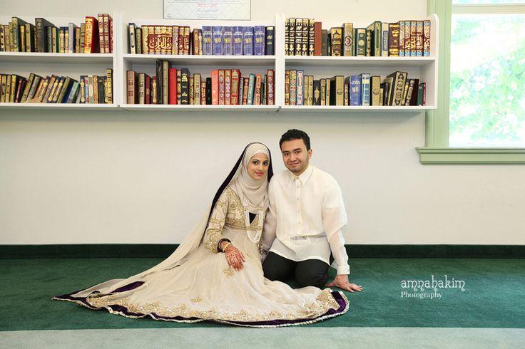 White Wedding Details - Indian muslim Wedding