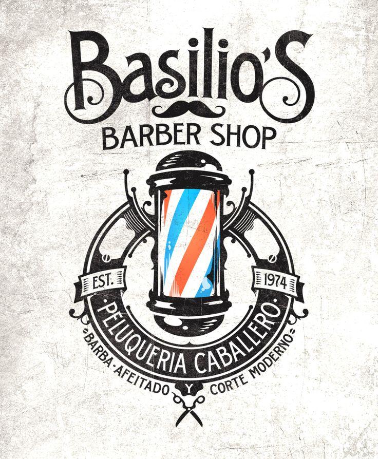 BurnClan Kustom Graphics   The Artworks of Alex Patrocinio   Barcelona   Basilio´s Barber Shop