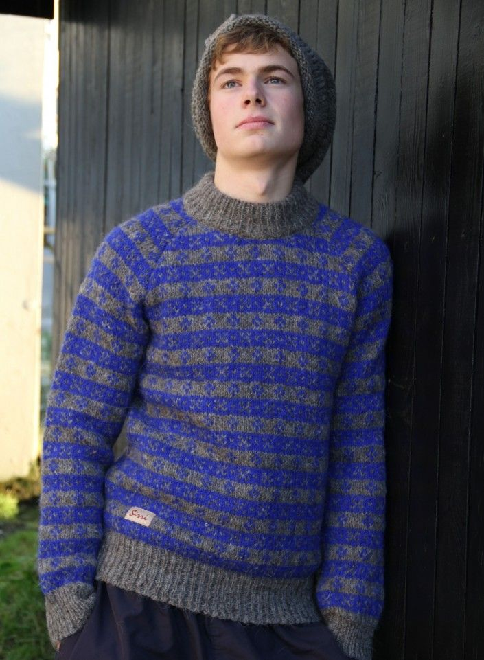 The Island Wool Company- Faroese By Design - Nordic By Nature - Sirri Patterned Jumper1