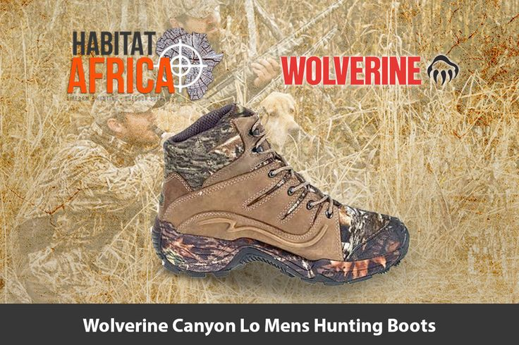 The Wolverine Canyon Lo men's hunting boots feature a waterproof…