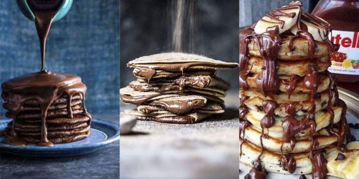 18 mouthwatering Nutella pancake recipes to get you going this Pancake Day