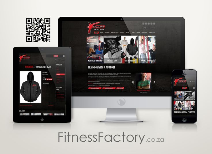 Check out Fitness Factory's new website from your favourite device.  http://www.FitnessFactory.co.za #mobile #webdesign #fitness